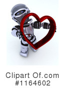 Royalty-Free (RF) Robot Clipart Illustration #1164602