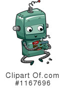 Royalty-Free (RF) Robot Clipart Illustration #1167696