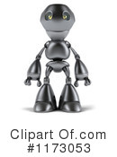 Royalty-Free (RF) Robot Clipart Illustration #1173053
