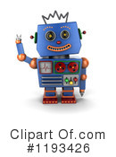 Robot Clipart #1193426 by stockillustrations