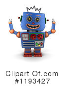 Robot Clipart #1193427 by stockillustrations