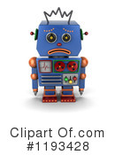 Robot Clipart #1193428 by stockillustrations