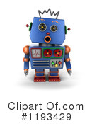 Robot Clipart #1193429 by stockillustrations