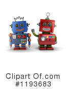 Robot Clipart #1193683 by stockillustrations