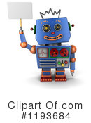 Robot Clipart #1193684 by stockillustrations