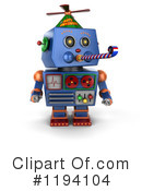 Robot Clipart #1194104 by stockillustrations