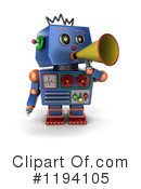 Robot Clipart #1194105 by stockillustrations