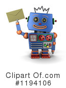 Robot Clipart #1194106 by stockillustrations