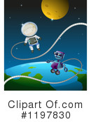 Robot Clipart #1197830 by Graphics RF