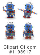 Robot Clipart #1198917 by stockillustrations