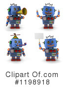 Robot Clipart #1198918 by stockillustrations