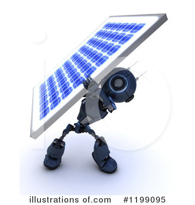 Solar Panel Clipart #1199095 by KJ Pargeter
