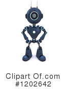 Robot Clipart #1202642 by KJ Pargeter