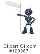 Robot Clipart #1209871 by KJ Pargeter