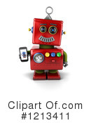Robot Clipart #1213411 by stockillustrations