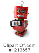 Robot Clipart #1213657 by stockillustrations