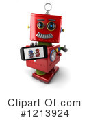 Robot Clipart #1213924 by stockillustrations