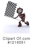 Robot Clipart #1216551 by KJ Pargeter