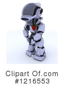 Royalty-Free (RF) Robot Clipart Illustration #1216553