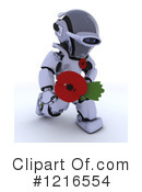 Royalty-Free (RF) Robot Clipart Illustration #1216554