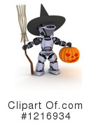 Robot Clipart #1216934 by KJ Pargeter