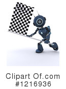 Robot Clipart #1216936 by KJ Pargeter