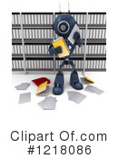 Robot Clipart #1218086 by KJ Pargeter