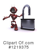 Robot Clipart #1219375 by KJ Pargeter