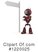 Robot Clipart #1220025 by KJ Pargeter