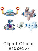 Robot Clipart #1224557 by Graphics RF