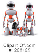 Royalty-Free (RF) Robot Clipart Illustration #1226129
