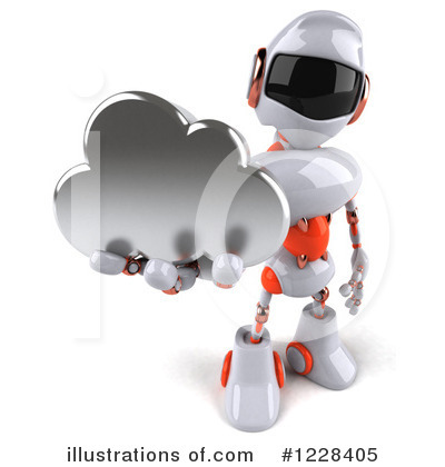 Robot Clipart #1228405 by Julos