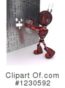 Robot Clipart #1230592 by KJ Pargeter