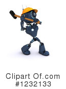 Robot Clipart #1232133 by KJ Pargeter