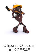Robot Clipart #1235545 by KJ Pargeter