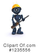 Robot Clipart #1235556 by KJ Pargeter