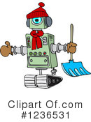 Royalty-Free (RF) Robot Clipart Illustration #1236531