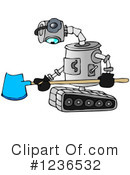 Royalty-Free (RF) Robot Clipart Illustration #1236532