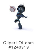Robot Clipart #1240919 by KJ Pargeter