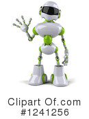 Robot Clipart #1241256 by Julos