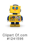 Robot Clipart #1241596 by stockillustrations