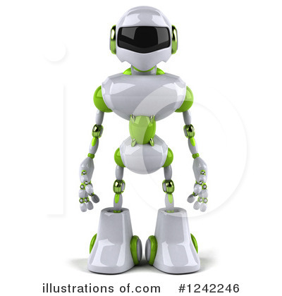 Robot Clipart #1242246 by Julos