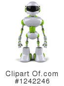 Royalty-Free (RF) Robot Clipart Illustration #1242246