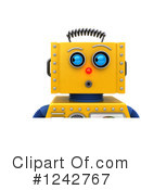 Robot Clipart #1242767 by stockillustrations
