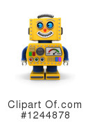 Robot Clipart #1244878 by stockillustrations