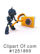 Robot Clipart #1251869 by KJ Pargeter