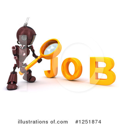 Job Search Clipart #1251874 by KJ Pargeter