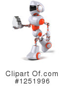 Robot Clipart #1251996 by Julos