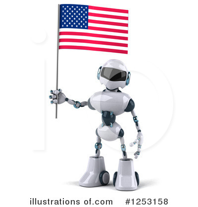 Robot Clipart #1253158 by Julos