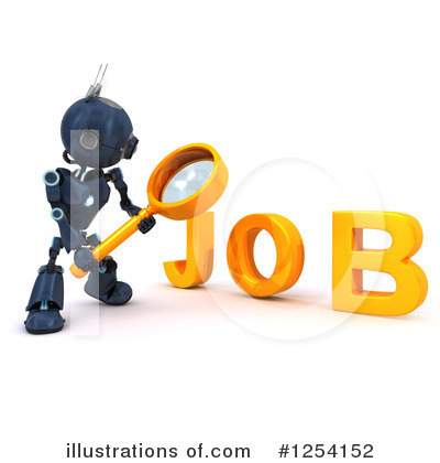 Job Search Clipart #1254152 by KJ Pargeter